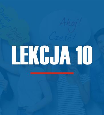 Lekcja 10